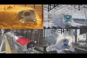 海外「新幹線は鉄道の王様!世界最速の除雪車!」雪に負けない新幹線の動画に反響(海外の反応)