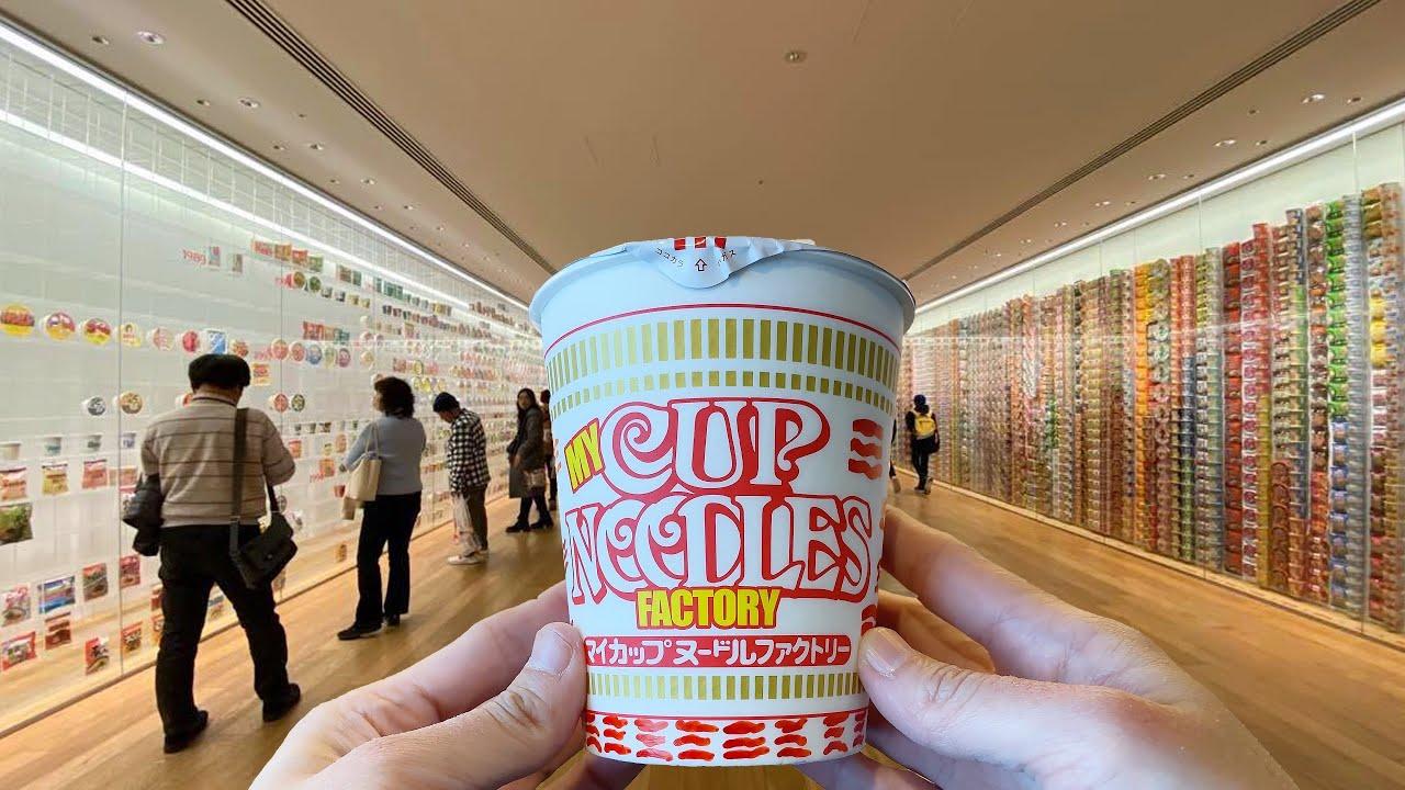 海外「日本は私が今まで見た中で最もおかしな国」カップヌードルミュージアムを紹介した動画が話題に(海外の反応)